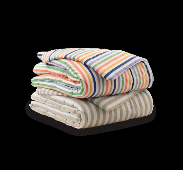 Simply Blanket 100% Cotton (Stripe)