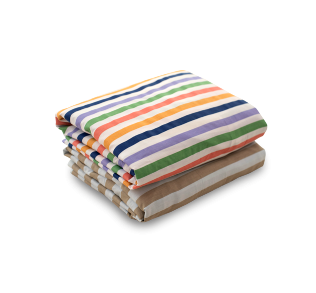Simply Bed Sheet 100% Cotton (Stripe)